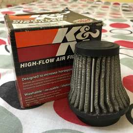 K&N air filter for sale. It can be used in any