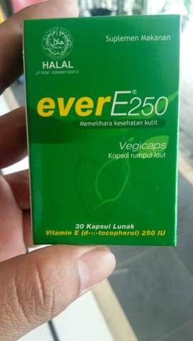 Vitamin E 250 utk tubuh