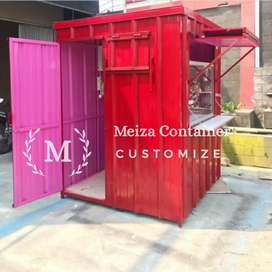 Booth Container CAFE |Booth KEBAB | Booth THAITEA| Booth Martabak *001