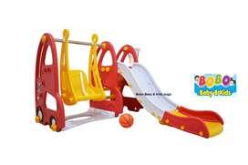 Perosotan Ayunan Basket Labeille KC-517 Otto Bus 2in1 Slide Swing