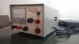 Variable DC Power Supply 15V dc 1A