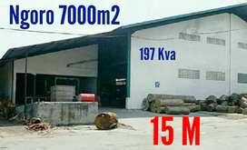 Dijual Pabrik/Gudang di Ngoro Mojokerto