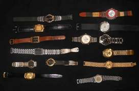Vintage Old & New Working & Non Working Rare Wrist Watch Watches Lot