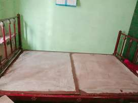 Iron beds and wardrobs