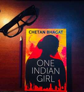 Chetan Bhagat's - ONE INDIAN GIRL book for sale