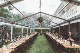 PVC transparent clear sheet shed marquee,green house temperature contr