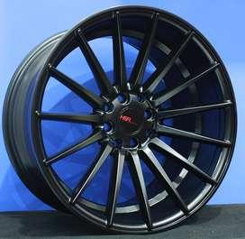 TSUKUBA JD8084 R17x75/9 Lubang8 SMB - HSR Velg/Pelek Mobil Import