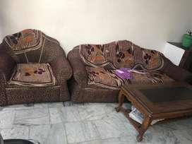 Sofa made from mango wood