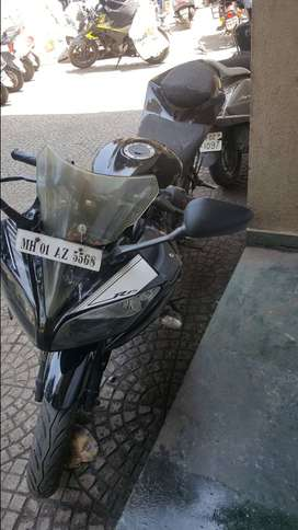 Yamaha R15 V2 single owned