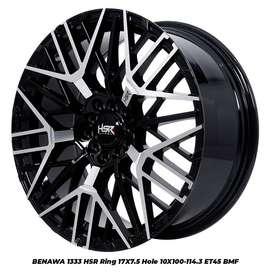 Velg Mobil Accord Inova Xpander Hrv Altis Sienta HSR Ring 17 Lebar 7,5