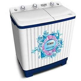 Mitashi 6.8 KG Semi Automatic Top Loaded washing machine- MiSAWM68v25