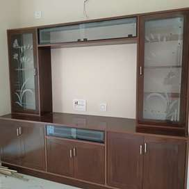 PVC cupboard laft  kitchen covering work