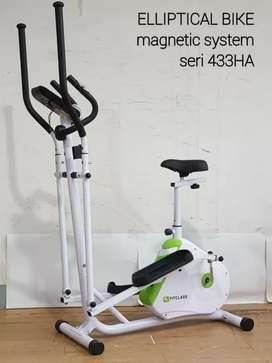 Elliptical bike fitness