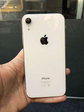 Iphone Xr White Factory Unlocked 64gb non pta 100 battery Health