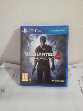 Uncharted 4 (ps4 game for sale)