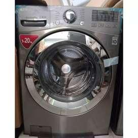 Mesin cuci LG kapasitas 20kg bisa untuk usaha laundry