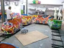 mini coaster isi 4 rel oval odong mainan anak