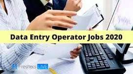 Fresher Back Office Executive | Data Entry | Computer Operator