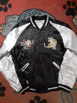 Sukajan souvenir jacket ryu tora