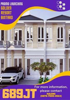 Bintaro, Golden Resort Bintaro Rumah TERMURAH Pusat Bintaro -12