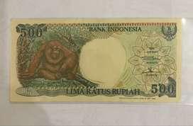 Jual Uang Kuno 500 Orang Utan 1992