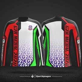 Menerima pesanan / custom jersey gowes / sepeda full printing murah