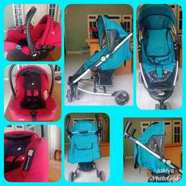 Stroller Elle Maxi & Car Seat Baby good condition