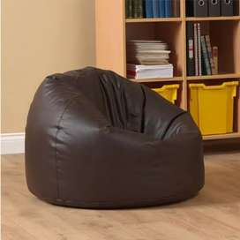 LEATHER BEAN BAGS CHAIRS / SOFAS