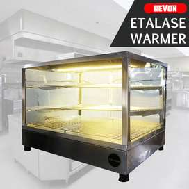 Etalase Warmer Mesin Display + Penghangat Fried Chicken Harga Murah