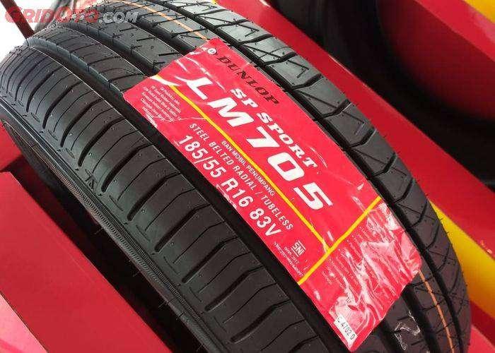 Ban Mobil Dunlop Ukuran 185/55 R16 Ban Tubles Honda Feed Jazz Rs Murah