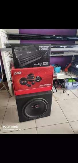 Paket audio mix dhd vintage sudah termasuk pasang
