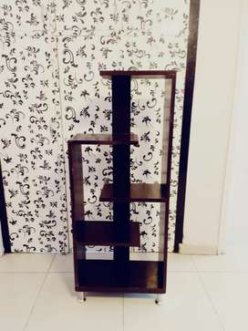 Hickory Brown Wooden Showcase Furniture