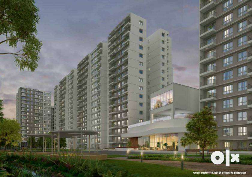 No Brokerage!! 2 BHK Apartment for Sale in INT'L Airport Road732 0