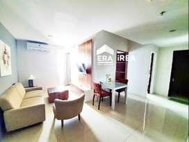 Apartemen 2 BR disewakan bulanan siap huni di Solo Paragon