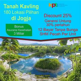 Tanah Dijual di Jongke Palagan, Strategis: Bisa Cicil 12X Non Bunga