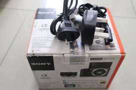 Dus box sony alfa 5000 - kameranya hilang