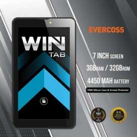 Promo murah tab evercoss win ram 3/32 grs resmi 1th