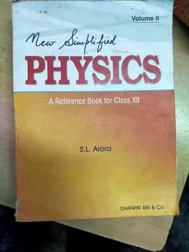 Physics and Chemistry Reference books for class 12
