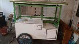 Roda gerobak jualan