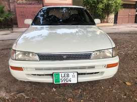 Toyota corolla Se limited japanese varient