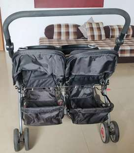 Twins baby strolar,8000₹