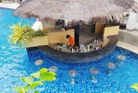 PEMBUATAN WATERPARK PRIVATE POOL MURAH | BANDUNG