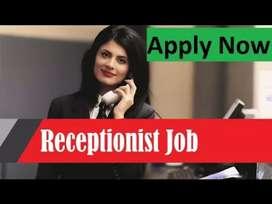 We are looking for Receptionist to manage front desk on a daily basis