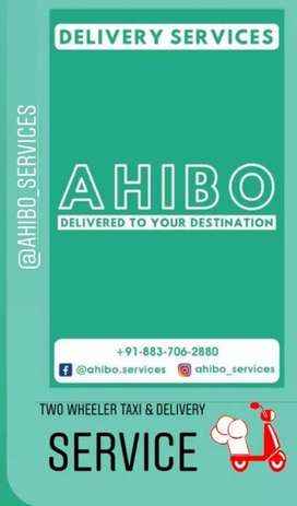 Job in Ahibo Company( Two wheeler taxi + delivery service)