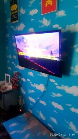 Briket Breket bracket tv LCD LED dan plasma pasang di tembok