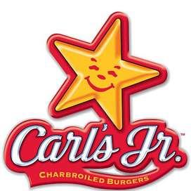 Lowongan Kerja Waiter/Waitress Carl's Jr