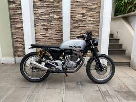 Honda Tiger 200cc 2003 Custom Japstyle Street Tracker Silver