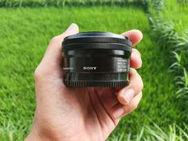 Lensa Kit Sony 16-50 OSS Black Like New