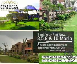 5 Marla Residential Plot 5 Years Installment Plan