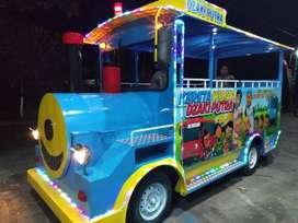 kereta mini wisata odong mainan edukasi eskavator excavator mini  UL